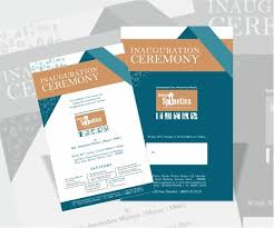 pictures of flyers invite of mayoral inauguration invitation card createbrands