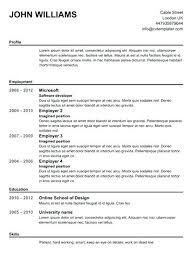 Free Resume Builder And Download Free Resume Builder Download Build