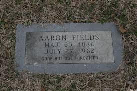 Aaron Fields (1886-1962) - Find A Grave Memorial