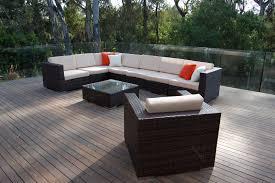 Black Wicker Outdoor Furniture Sofa Wonderful Black Wicker