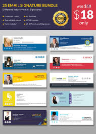 Outlook Templates Free 64 Email Signature Designs Download Edit Easily Email