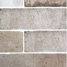 medium size of porcelain tile brick look floor and wall backsplash white home depot brick look