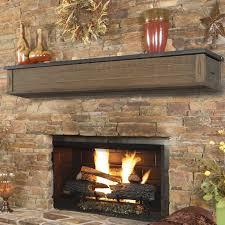 pearl mantels austin 2 drawer storage fireplace mantel shelf