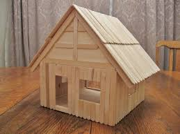 popsicle stick house floor plans from diy dollhouse basswood and popsicle stick dollhouse