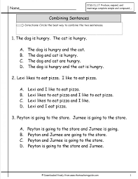 Complete sentences worksheets sufficient pics sentence worksheet ...
