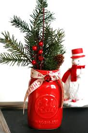 Ideas For Decorating Mason Jars For Christmas Mason Jar Christmas Centerpiece 100 Modern Easy DIY Ideas 81