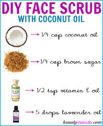 gently exfoliate your skin using this diy coconut oil face scrub it will leave your