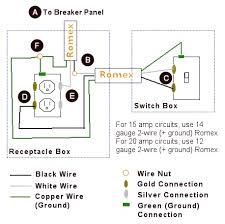 rewire a switch that controls an outlet to control an overhead how to wire a light switch and outlet combo at Light Switch Outlet Wiring Diagram