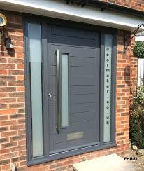 exterior door with side panels good contemporary front door grey and frame side panel entrance with