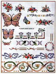 Cross Stitch Pattern Chart Free Download From A 1922