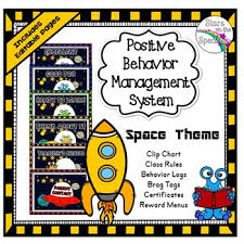 Clip Chart Behavior Management System Clip Chart Behavior Management System Space Theme