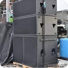 4-Acoustic PCS-318NB and PCS-118HB Subwoofer Array | Diy subwoofer, Best  subwoofer, Subwoofer