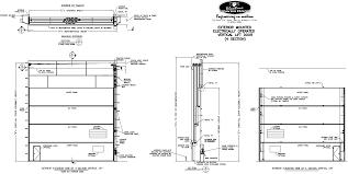 industrial garage door dimensions. Industrial Garage Door Dimensions G
