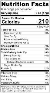 Wheat Nutrition Chart Bionaturae Whole Wheat Pasta Bionaturae Llc