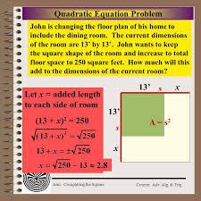 quadratic equation problem