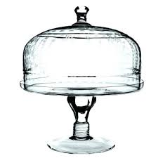 glass domed cake stand plate with dome stands uk