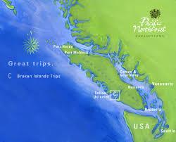 Sea Kayaking Trips In The Broken Group Islands British Columbia