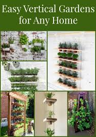 vegetable garden planters ideas vertical garden planters are easy to make or for a herb or
