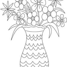 Small Picture Picture of Flower Bouquet in Vase Coloring Page Color Luna