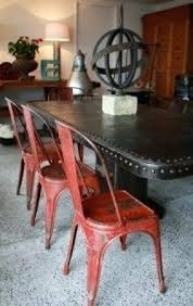 distressed metal furniture. Brilliant Metal Metal Dining Chairs Distressed Patio Furniture And T