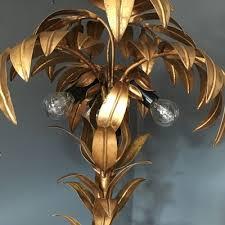 vintage palm tree lamp by hans kogl 2