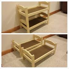 making doll furniture. easy to make doll bunk bed plans from ana whiteu0027s blog i extended the length making furniture a