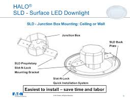 9 10 halo sld surface led downlight junction box mounting junction box mounted led lights54