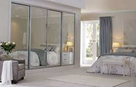 image mirrored closet. mirrored closet doors will make the bedroom look bigger image r