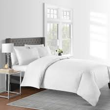 details about 625 thread count solid king duvet cover set in white 3 piece 100 cotton