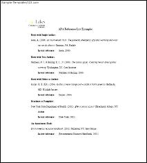 Professional References List Template Delectable Free Reference List Template For Resume Format Unique References
