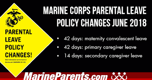 Marine Corps Parental Leave Policy Changes June 2018