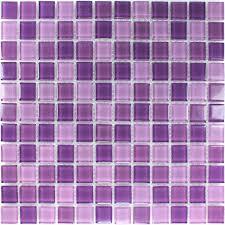 clear glass mosaic tiles purple mix mosafil co uk