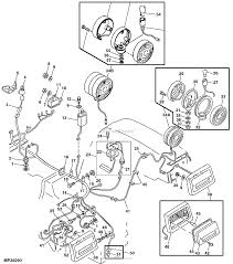 John deere parts diagrams john deere 990 gear transmission pc2830 rear lights wiring harness electrical