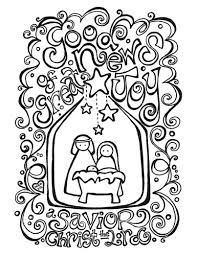 Christmas Coloring Pages Christian At Seimado