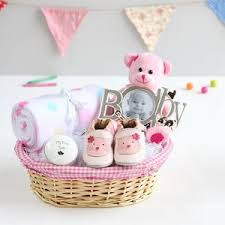 create a new baby and mum gift basket baby shower gifts