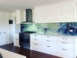 Digitally Printed Dandelion Glass Splashback by Graphic Glass Services  '