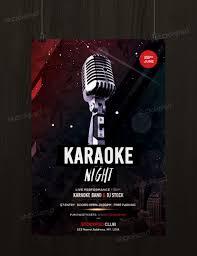 Karaoke Night Flyer Template Get Karaoke Night Flyer Template PSD FlyerShitter 7
