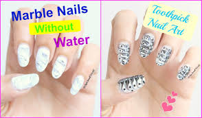 Water Marble Nail Art Applique Awesome Projects Nail Art Designs ...