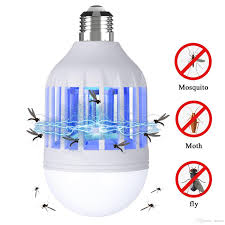 electric trap light indoor 15w e27 e27 led mosquito lamp bulb electronic anti insect bug wasp pest fly outdoor greenhouse decorative led bulbs