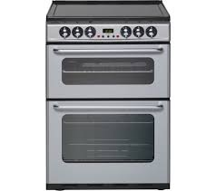 New World Kitchen Appliances Buy New World Ec600dom Electric Cooker Silver Free Delivery