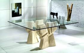 glass dining table base dining room glass table bases on intended in for base inspirations glass glass dining table base
