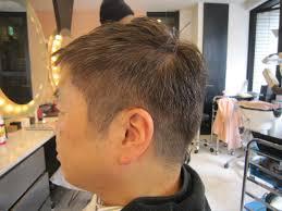 50代メンズカット グレーカラーで 40代50代60代髪型表参道美容室青山