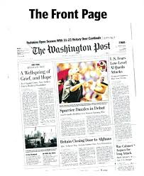 Free Front Page Newspaper Template Newspaper Template Blank Amazing Newspaper Templates Sample Free