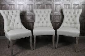 chic silver grey dining chairs dining room chairs french style in antique white