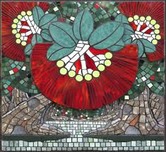 con is a new zealand artist who came to mosaic art after a career in education
