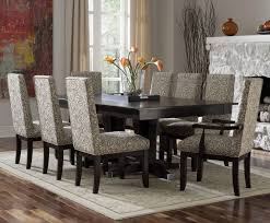 dining room amazing charming formal design with rectangular brown chairs designs high back maple