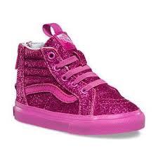 vans shoes for girls pink. toddlers shimmer sk8-hi zip   shop girls shoes at vans for pink