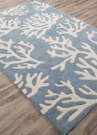 coastal c tides area rug arctic blue
