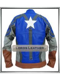 captain america the first avenger s leather jacket
