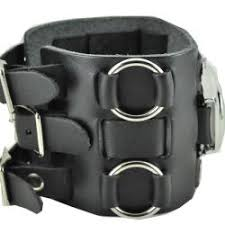nemesis men s wide sunrise black leather cuff watch nemesis men s wide sunrise black leather cuff watch nemesis men s wide sunrise black leather cuff
